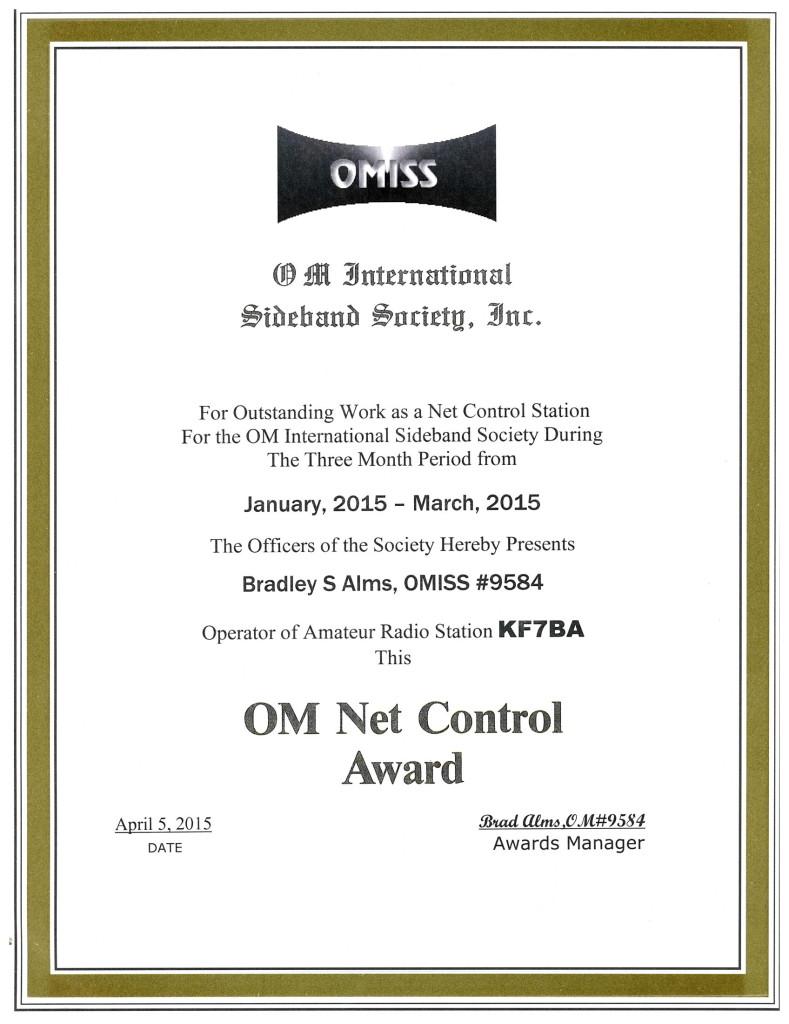 NCS of Quater 2015_Q1