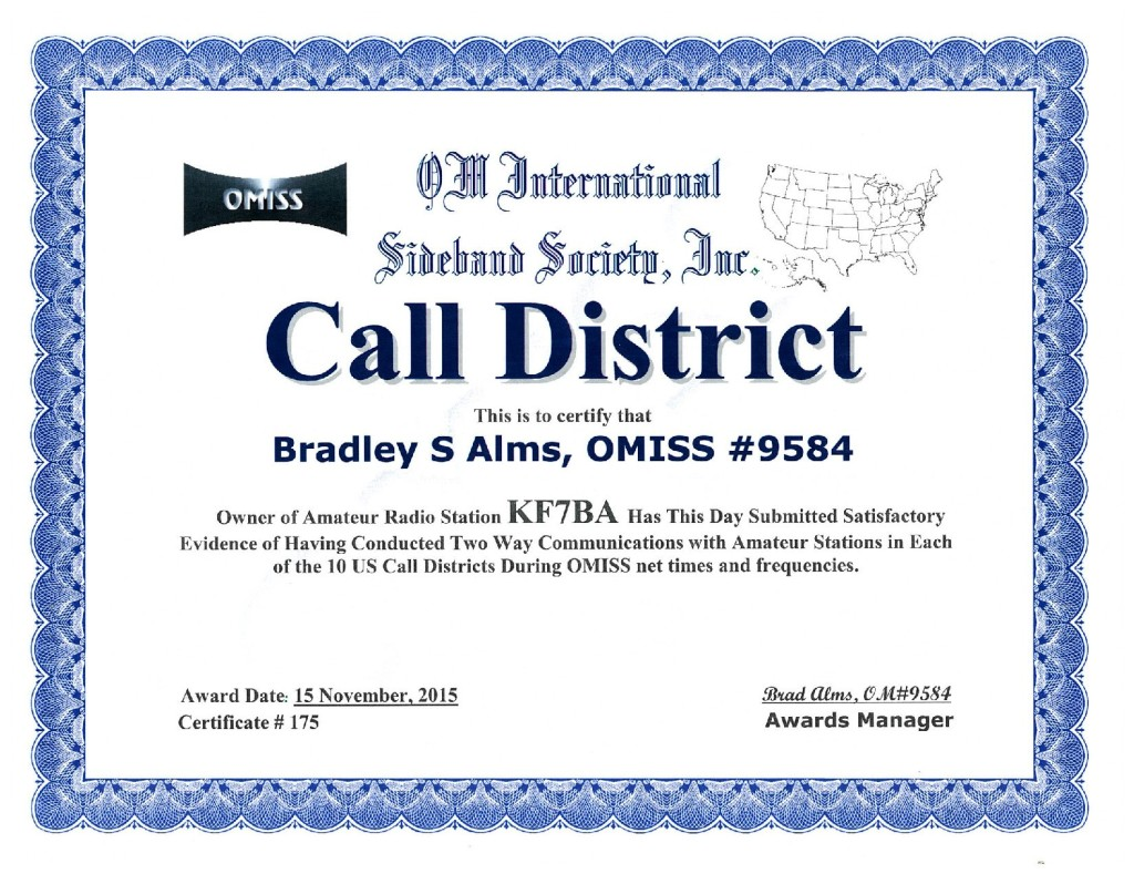 CALL DISTRICT